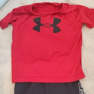 Toddler 3t under armour outfit
